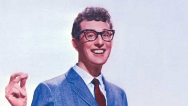 Crickets drummer Jerry Allison, not pictured, became friends with Buddy Holly in high school. Allison remembers Holly being humble and confident. Photo: Courtesy of Universal Music Archives.