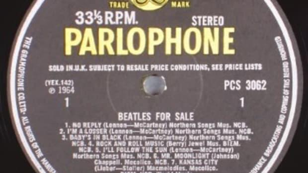 Beatles for Sale (Parlophone PCS 3062) 1964