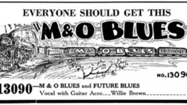M&O Blues-Willie Brown