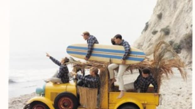 Beach Boys 1962 Capitol Records Photo Archives