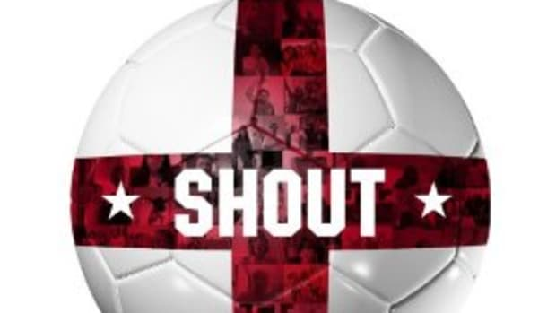 """Shout For England"" is an unofficial World Cup anthem in support of England's soccer team that features rapper Dizzee Rascal and actor/comedian James Corden."