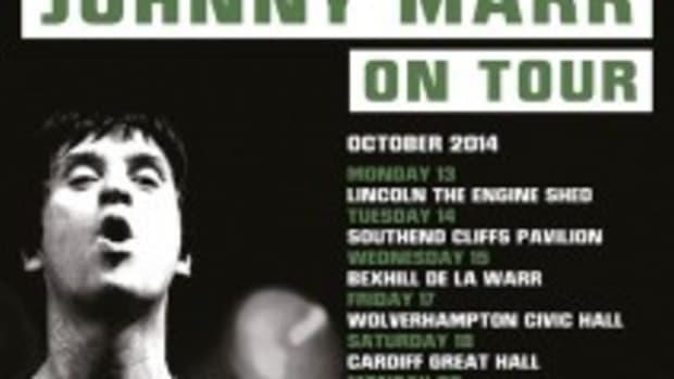 Johnny Marr's UK tour in support of his new solo album, Playland, included a spectacular show on Thursday, October 23rd at the O2 Brixton Academy in London, England.