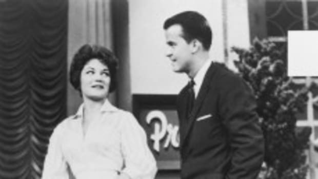 Dick Clark with Connie Francis