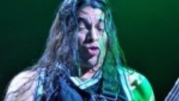 Metallica bassist Rob Trujillo (Photo by Chris M. Junior)