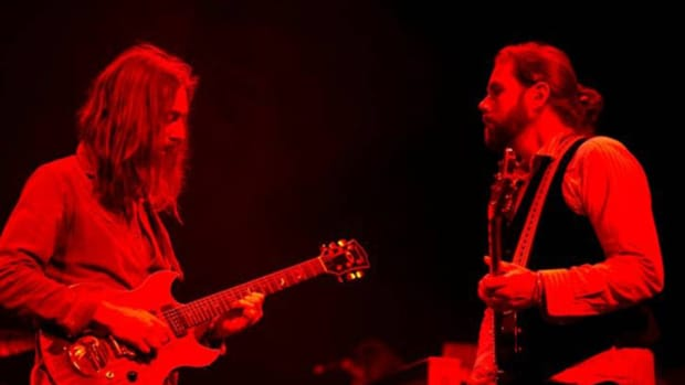 Black Crowes by Ross Halfin