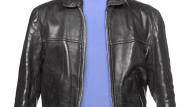 George Harrison Beatles leather jacket