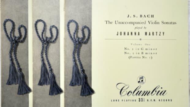 Johanna Martzy Bach Violin Sonatas