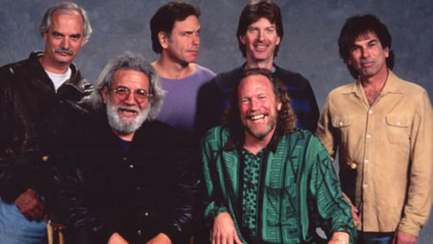 Grateful Dead 1993. Photo by Ken Friedman