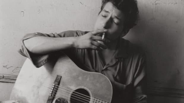 Bob Dylan silver gelatin print by John Cohen