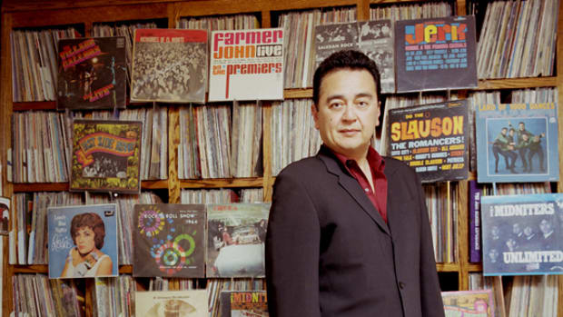 Goldmine reader and record collector Gene Aguilera
