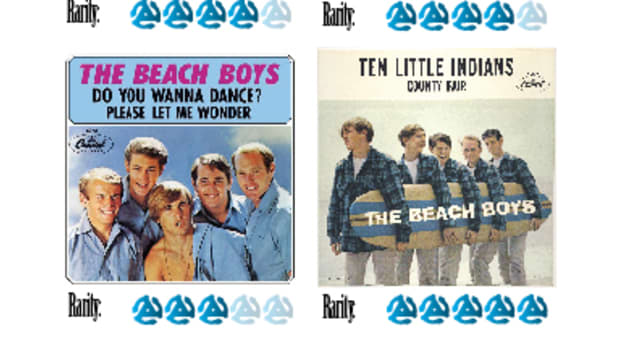 Beach Boys Picture Sleeves