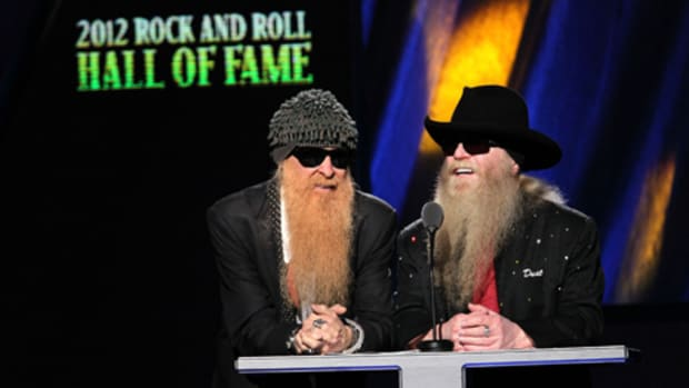 ZZ Top members Billy Gibbons and Dusty Hill