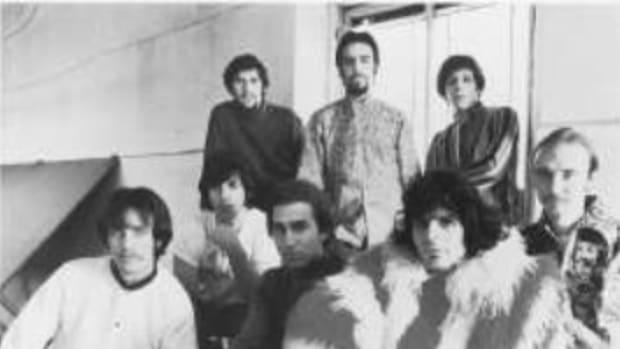 BLOOD, SWEAT & TEARS had a secret weapon in bassist Jim Fielder (bottom row, far left). Sony Music Archives/Don Hunstein