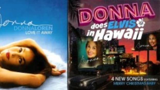 Donna Loren Love It Away and Donna Does Elvis in Hawaii albums