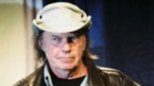 Neil Young at SXSW 2006 (photo by Chris M. Junior)