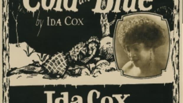 Ida Cox blues singer Paramount