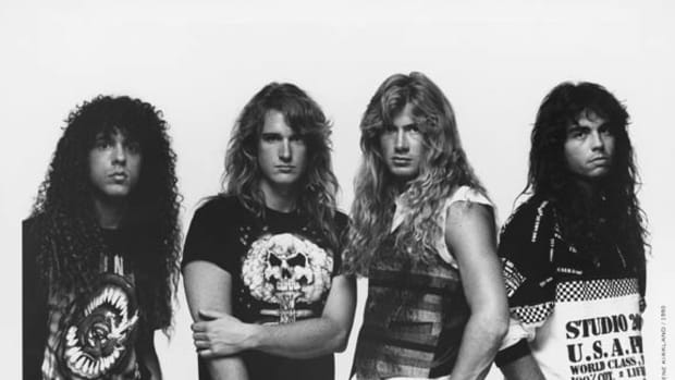 Megadeth 1990 photo by Gene Kirkland