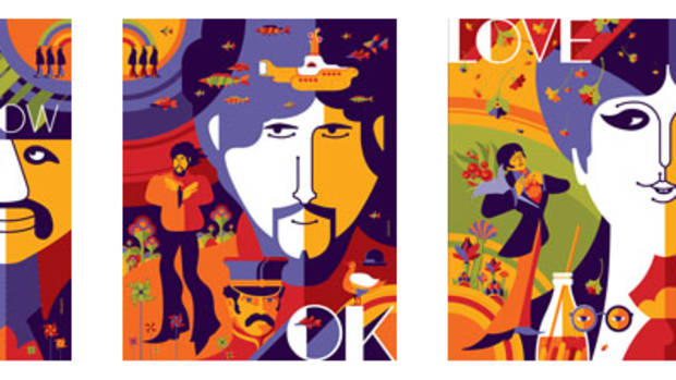Beatles Yellow Submarine PRints