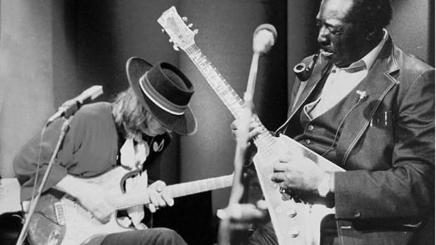 Stevie Ray Vaughan and Albert King courtesy PBS Pressroom