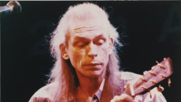 Steve Howe thought the first Asia album, 1982's self-titled #1 smash, had a good balance of ideas. (CF Martin & Co.)
