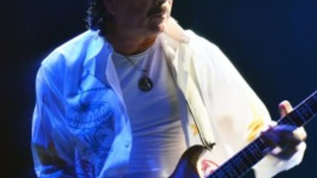 Carlos Santana performs July 20 at The Borgata in Atlantic City, N.J. (Photo by Chris M. Junior)