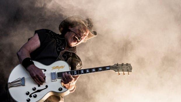 Ted Nugent Sweden Rock