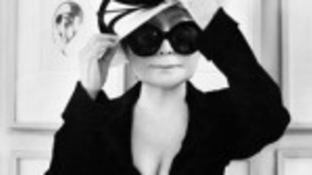 Yoko Ono (photo courtesy of Imagine Peace)
