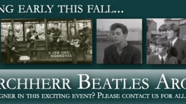 Guernsey Beatles Images Auction