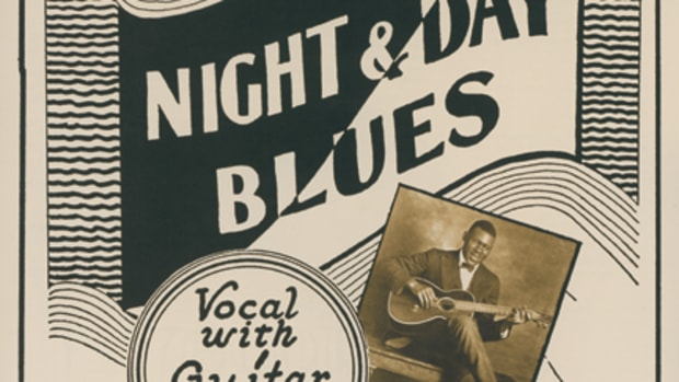 Blind Blake Night And Day Blues Paramount 13123