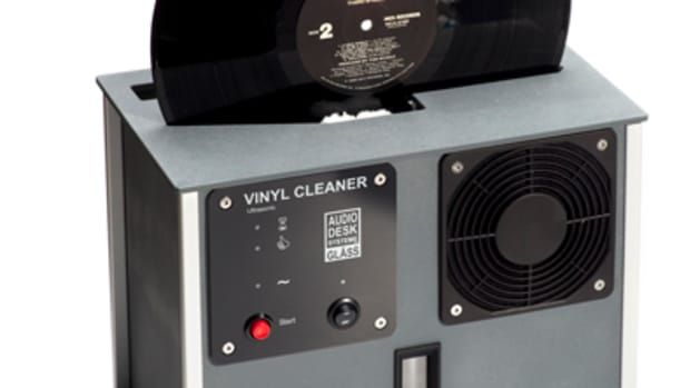 audio desk systeme record cleaner