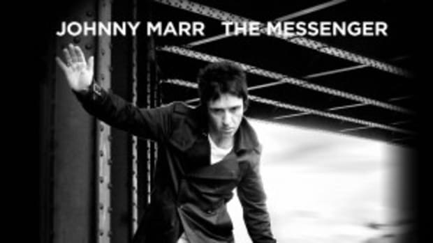Johnny Marr performed songs from his new album, The Messenger, as well as classics from Electronic and The Smiths at his fantastic show at New York City's Irving Plaza on Thursday, May 2nd.