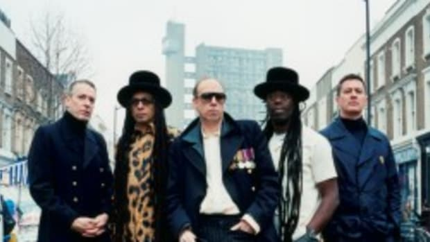 The reunited original lineup of Big Audio Dynamite performed a well-received concert at New York City's Roseland Ballroom on Tuesday, April 19th. (Photo is courtesy of Sony Music.)