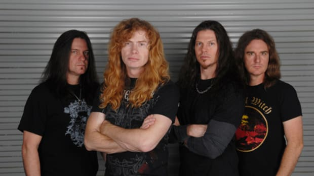 Megadeth 2010. Photo by Stephanie Cabral