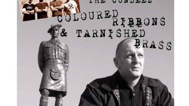 "All proceeds from the sale of ""Coloured Ribbons and Tarnished Brass"" by The Cundeez are being donated to the UK soldiers' charity Troops Relief. The song can be purchased worldwide on iTunes."
