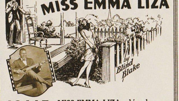 Blind Blake's Miss Emma Liza