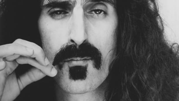 Frank Zappa in 1975. Photo courtesy Ryko/Doug Metzler, 1975