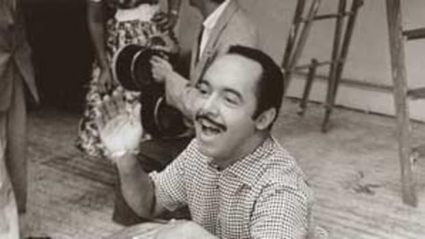 PEREZ PRADO brought the mambo into the pop mainstream. Photo courtesy Bear Family Records
