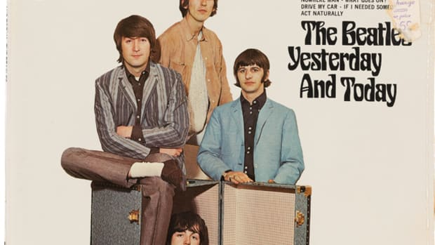 Beatles Yesterday and Today Trunk Cover Capitol