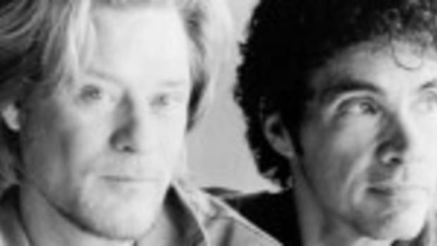 Daryl Hall (left) and John Oates