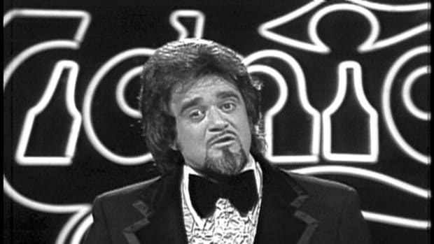 Wolfman Jack on The Midnight Special in 1973