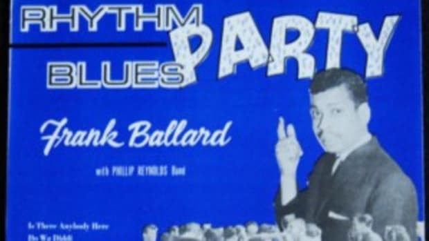 Frank Ballard with Phillip Reynolds Band Rhythm Blues Party