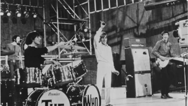 """A Quick One, While He's Away"" (promotional photo, above) tied together several ideas into a cohesive track. The Who's performance of the song as part of ""The Rolling Stones' Rock & Roll Circus"" in 1968 was one of the highlights of the show."