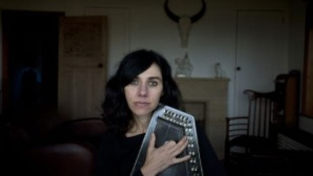 PJ Harvey performed the second of two sold-out shows at NYC's Terminal 5 on Wednesday, April 20th.