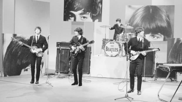 The Beatles on Ed Sullivan 1965