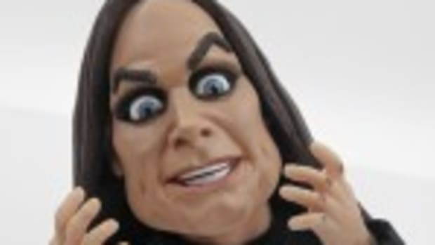 The clay-animation version of Ozzy Osbourne that appears in a new Brisk Iced Tea Web film