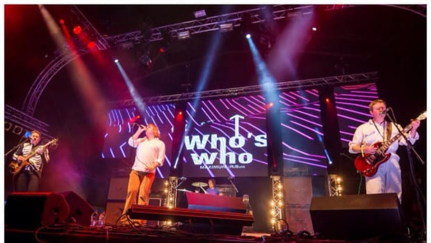 Who's Who (pictured above), a tribute band to The Who, and The Small Fakers, a Small Faces tribute act, formed a fantastic double bill at The Garage in Glasgow, Scotland on Saturday, October 18th.