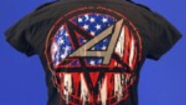 Anthrax stage-worn shirt