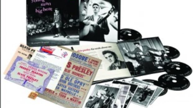 Elvis 1956 box set Young Man With The Big Beat