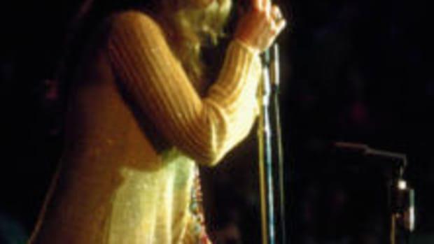 Singer Janis Joplin performs at the Monterey Pop Festival. Photo by Ted Streshinsky/CORBIS/Corbs via Getty Images)