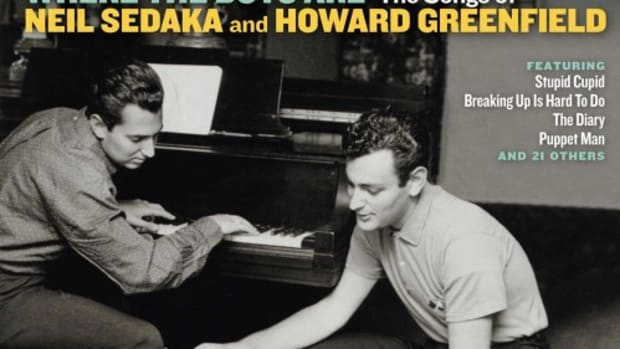 Howard Greenfield(right) with frequent collaborator Neil Sedaka